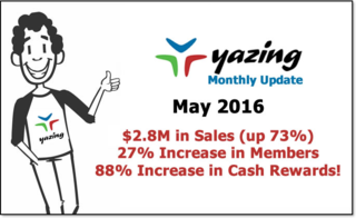Yazing May 2016 Update